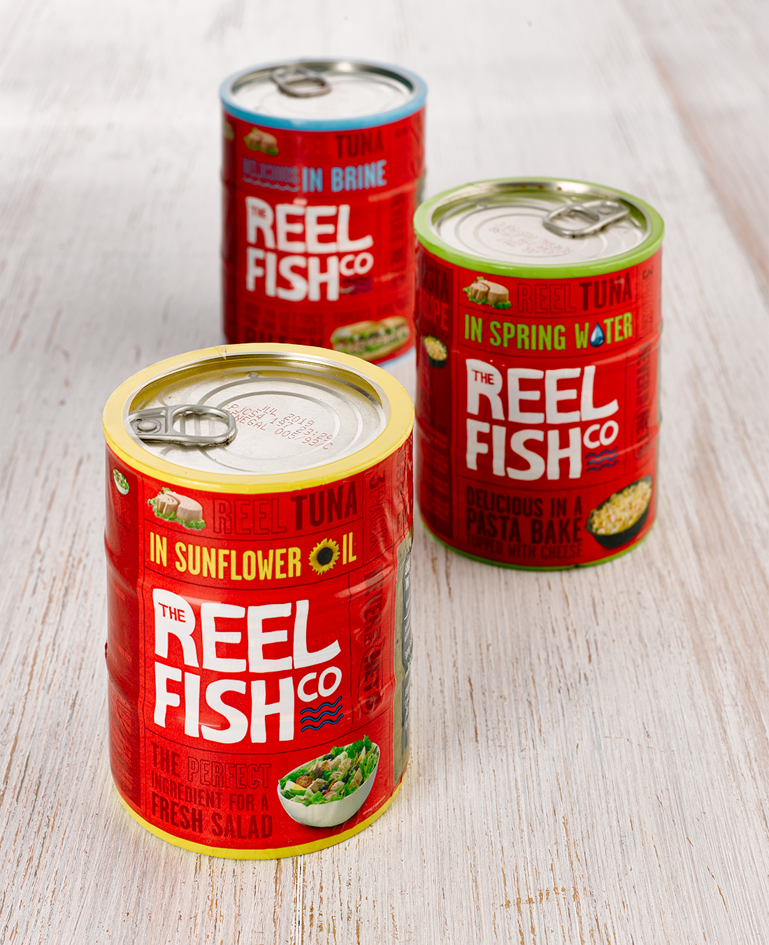 reel fish tuna shrink wrap