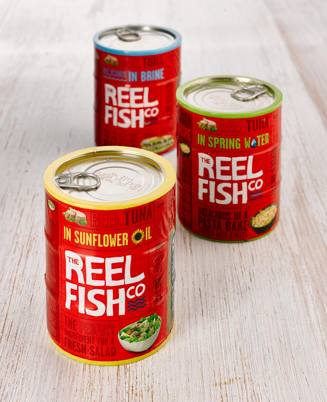 reel fish tuna shrink wrap