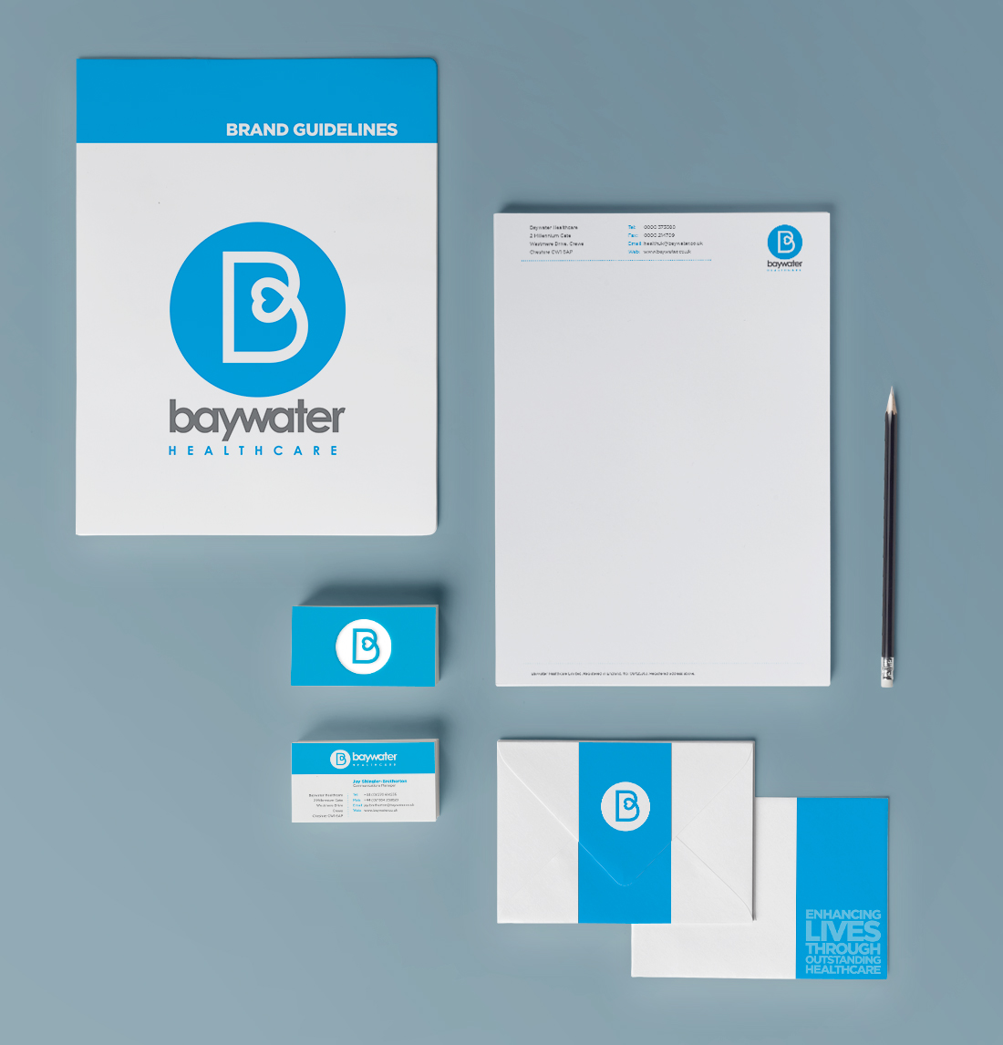 Baywater healthcare rebrand guidelines