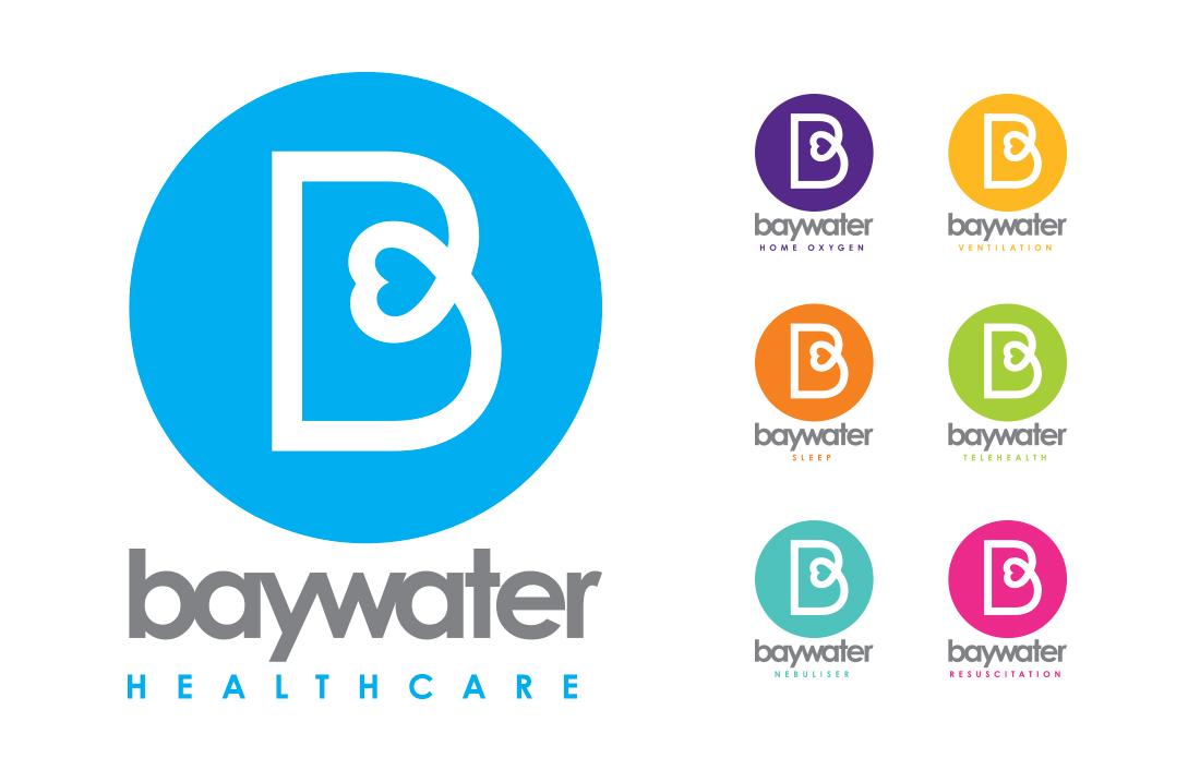 baywater healthcare divisional logos presented