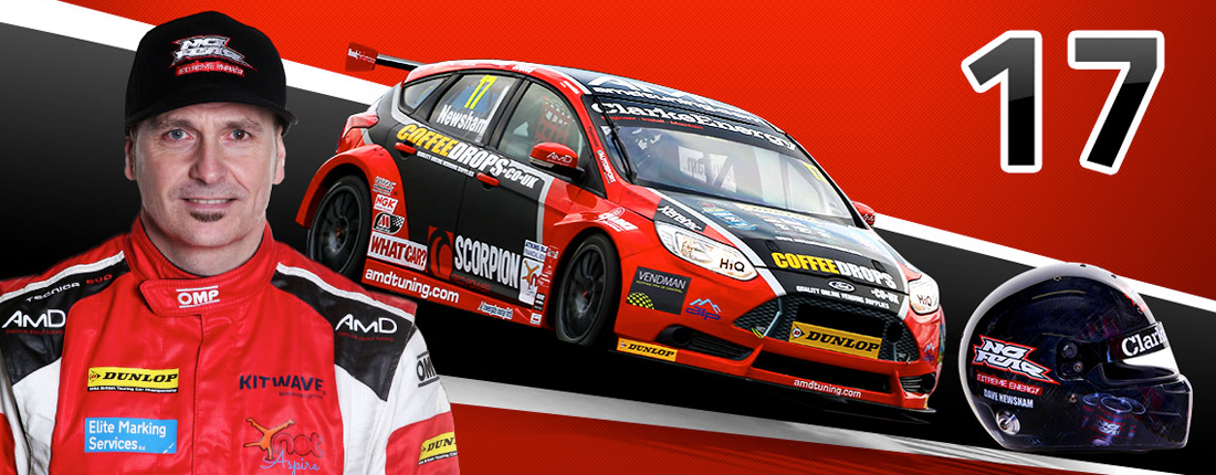 Dave Newsham BTCC Racing Header