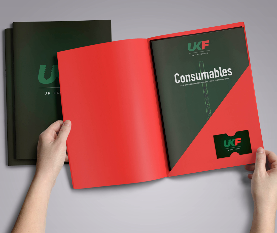 UK Fasteners consumables catalogue and folder