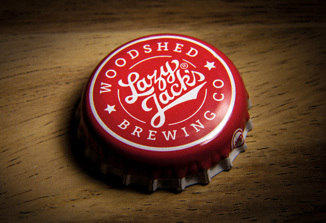 Lazy Jacks cider bottle cap photography