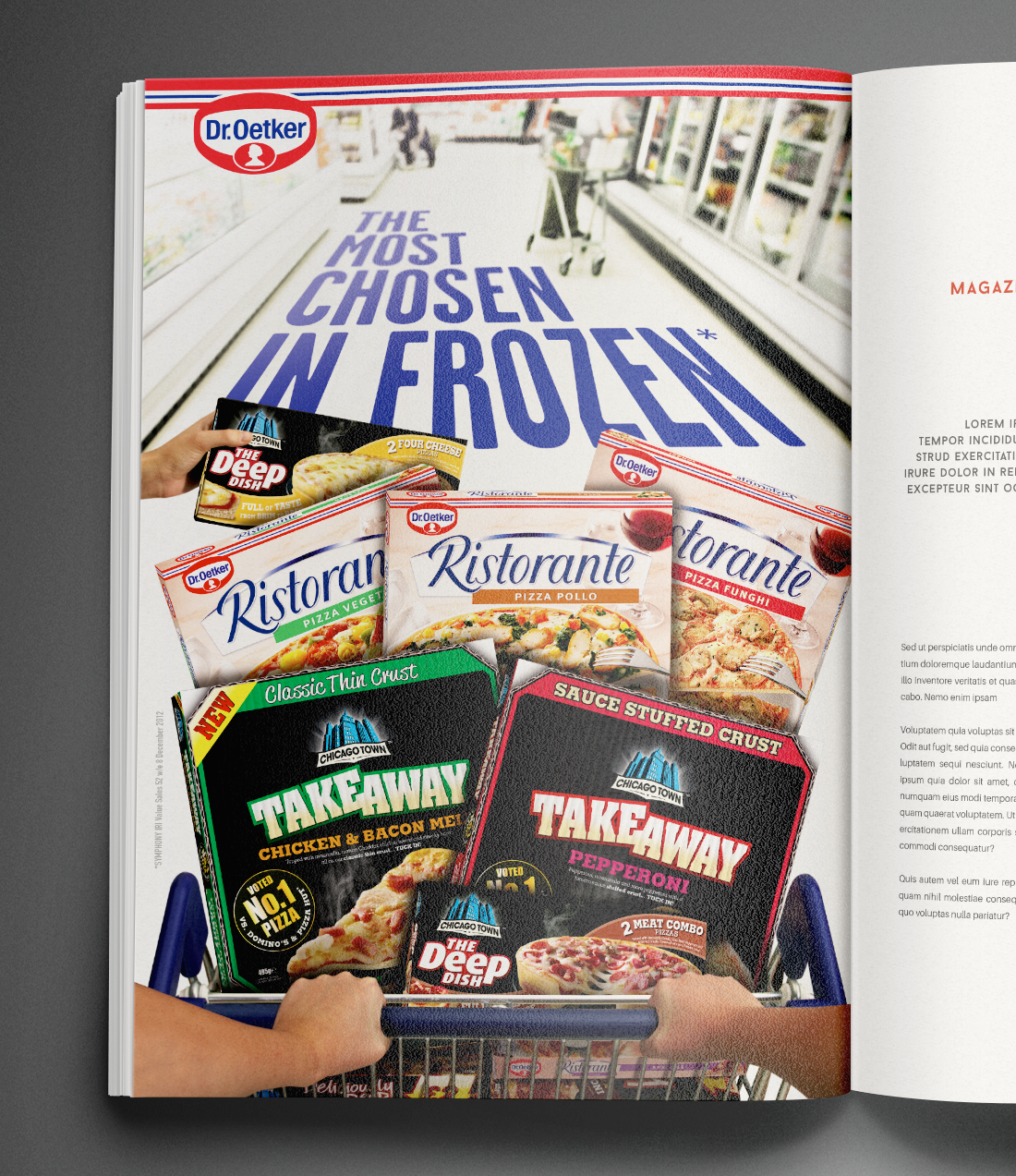 Dr Oetker most chosen in frozen ad
