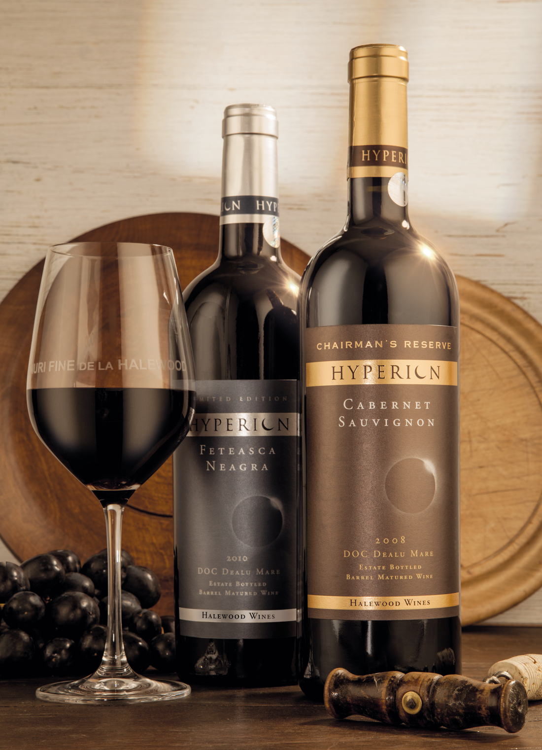 Hyperion wine shit for Halewood international