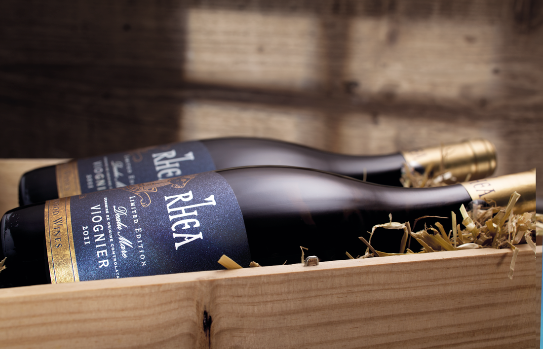 Rhea wine lifestyle shot for Halewood International